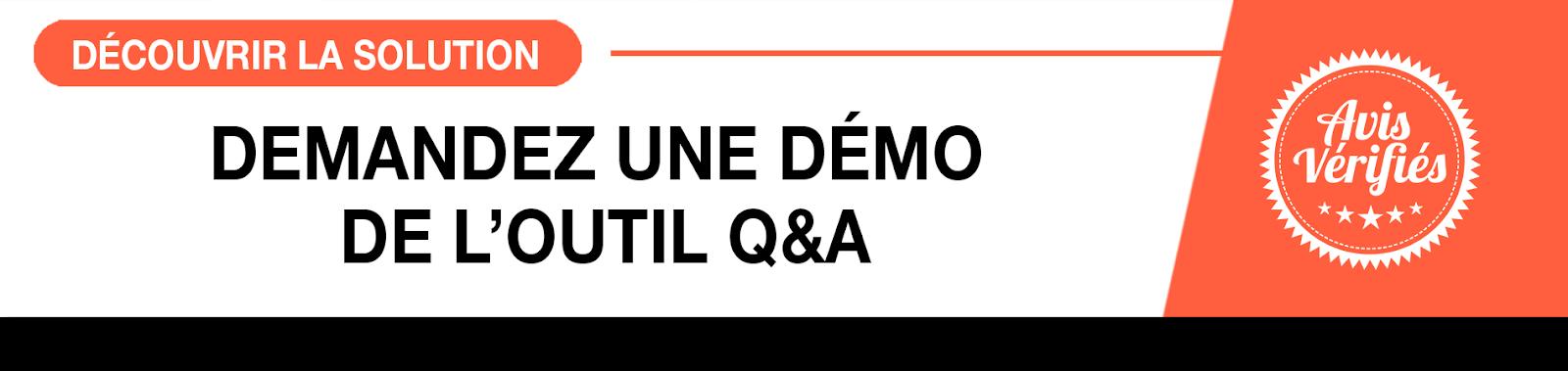 Découvrez l'outil Q&A
