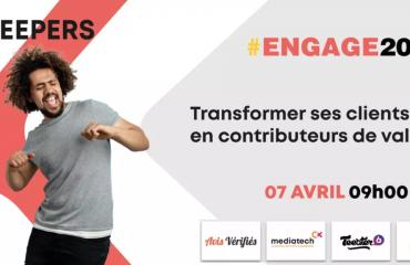 ENGAGE 2021 evenement Customer centric