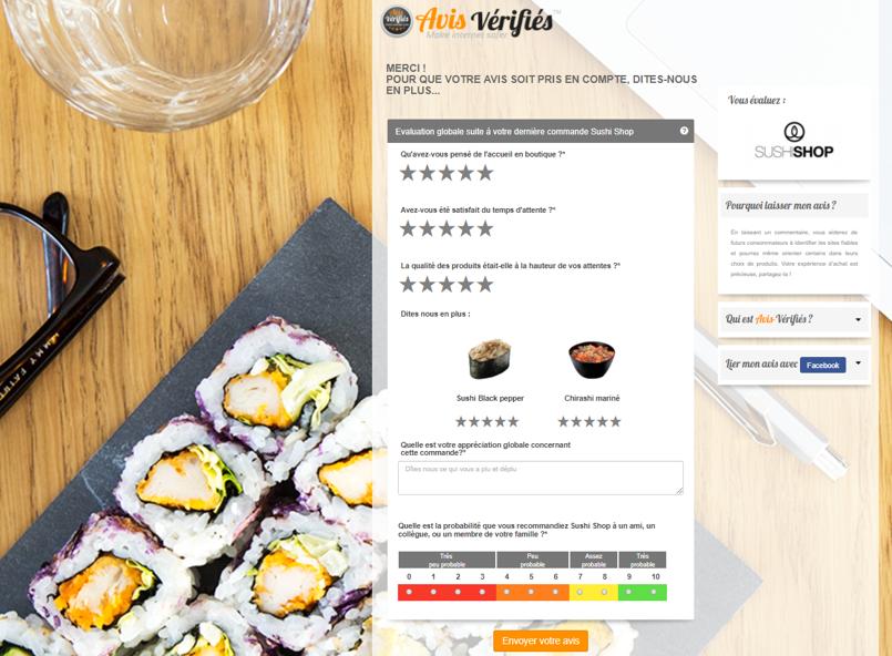 Comment piloter un réseau d'établissements grâce aux avis clients ? Le cas de Sushi Shop