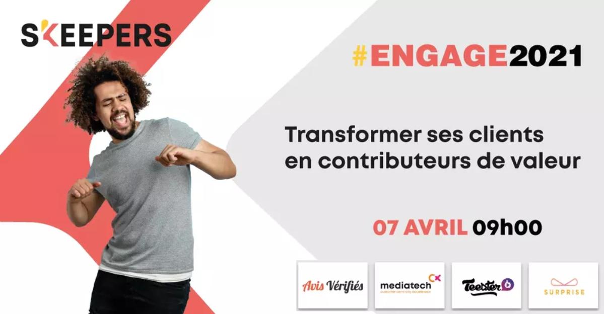 ENGAGE 2021 : l'événement customer centric à ne pas manquer