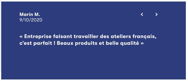 Avis client slip Français