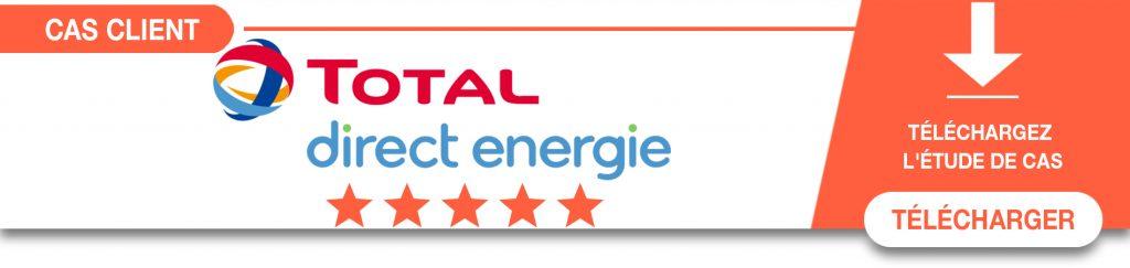 Découvrez le cas client Total direct Energie