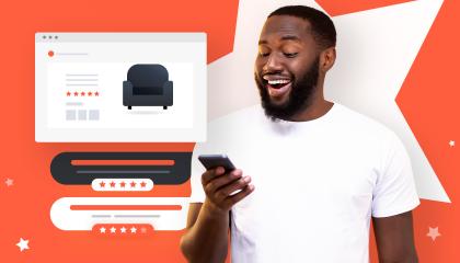 avis verifies client e-commerce