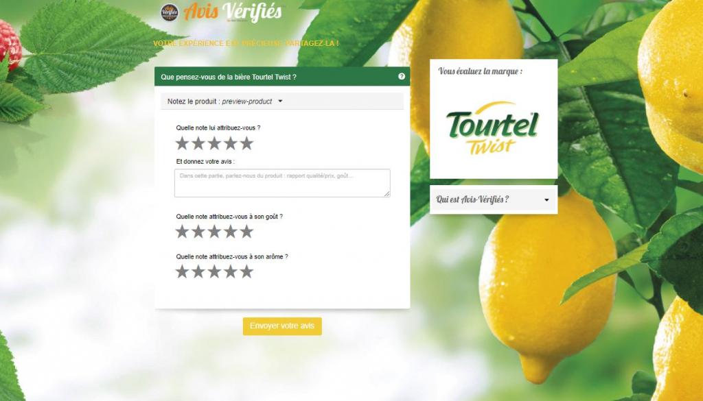 cuestionario de satisfacción revisiones verificadas Tourtel twist