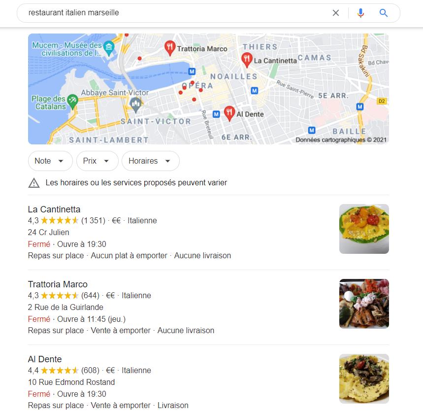 Avis verifies google my business