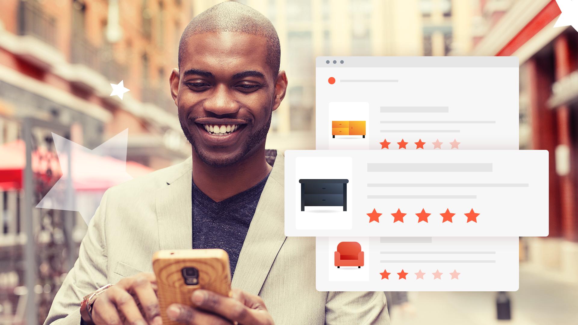 A importância das opiniões de clientes em toda a jornada do consumidor